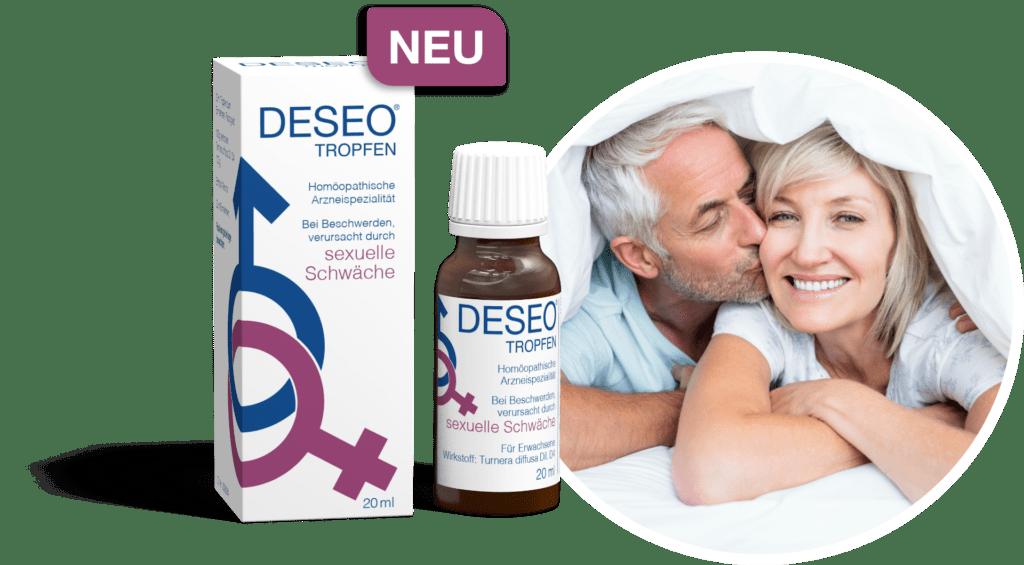 DESEO® Tropfen • Stark gegen sexuelle Schwäche!