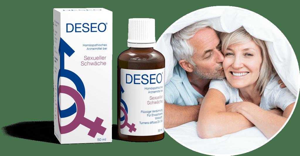 DESEO® • Stark gegen sexuelle Schwäche!