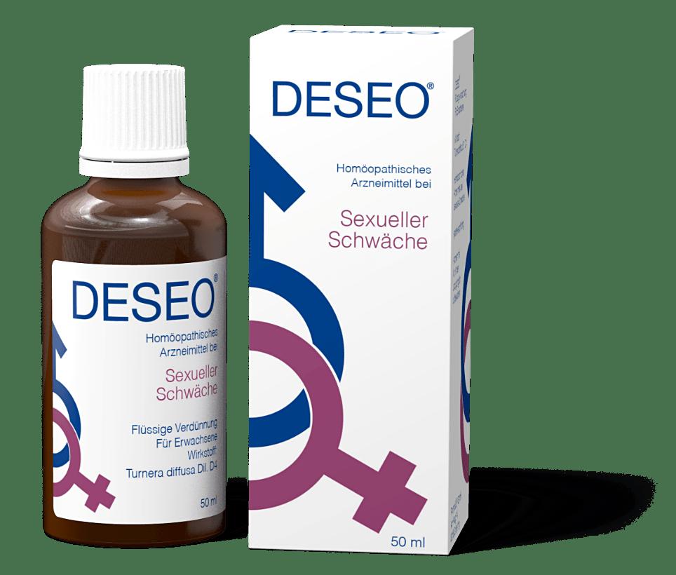 DESEO® • Natürlich stark gegen sexuelle Schwäche!