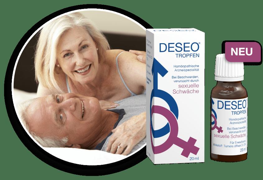 DESEO – wirksame Hilfe bei sexueller Schwäche!